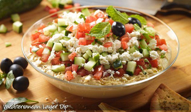 Mediteranian Layer Dip Oh Yeah Recipes Appetizer Recipes