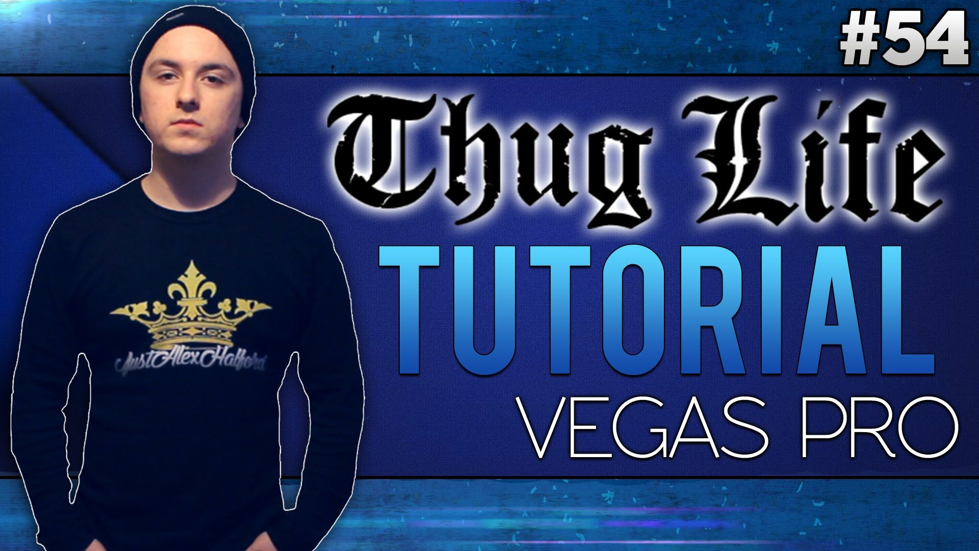Sony Vegas Pro 13: How To Make The 'thug Life' Effect 20
