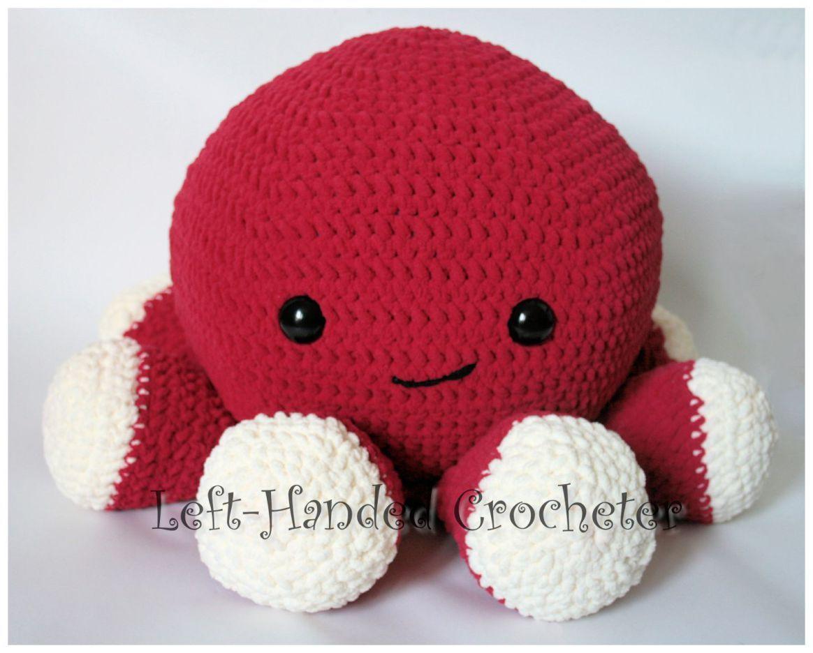 Giant Squishy Octopus Octopus Crochet Pattern Octopus Crochet