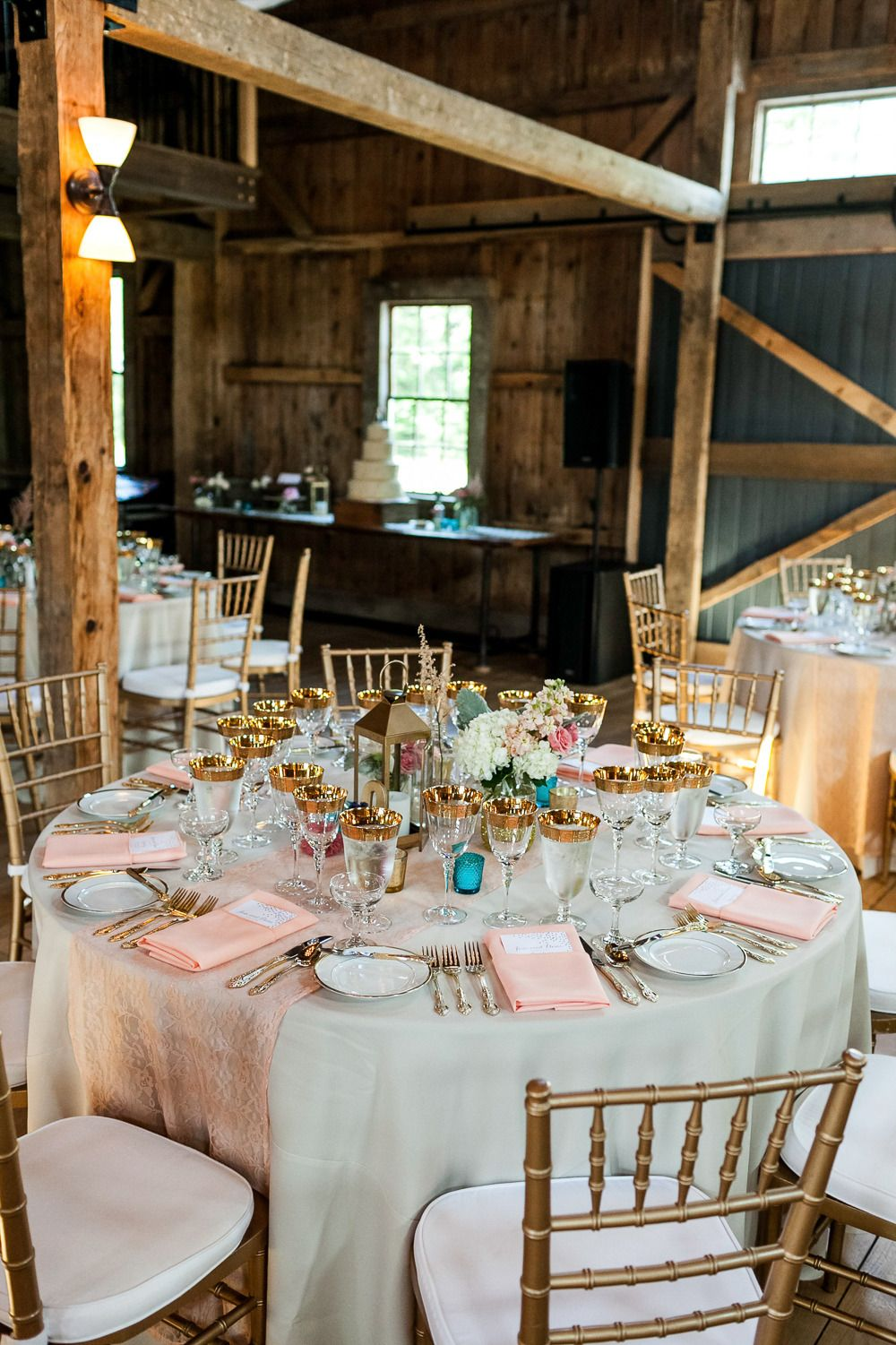 Maine Wedding at The Barn at Flanagan Farm from A Brit and A Blonde  Read more - http://www.stylemepretty.com/massachusetts-weddings/2013/11/15/maine-wedding-at-the-barn-at-flanagan-farm-from-a-brit-and-a-blonde/