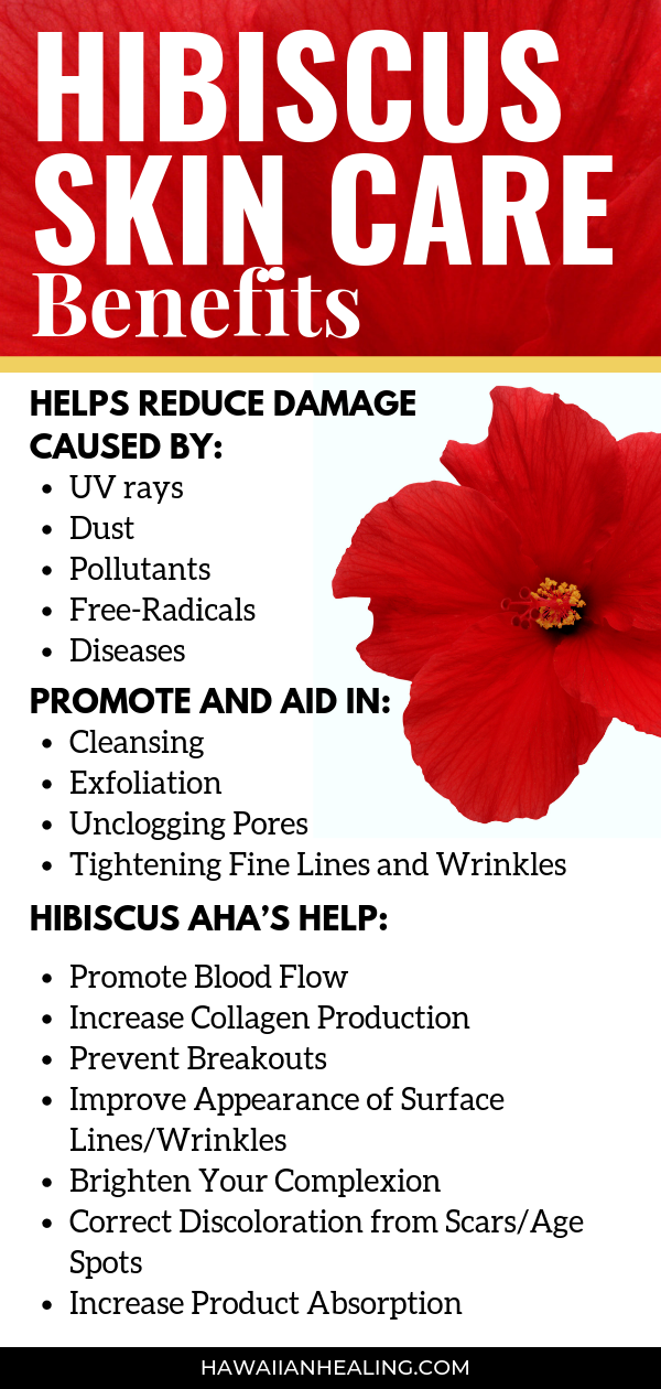 Meet Our Ingredients Organic Hibiscus Flower Extract Skin Care Benefits Natural Anti Aging Skin Care Natural Skin Care
