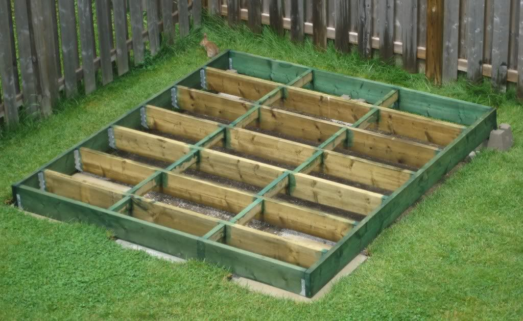 Diy shed how to plan and build a shed base shed for Garden building ideas