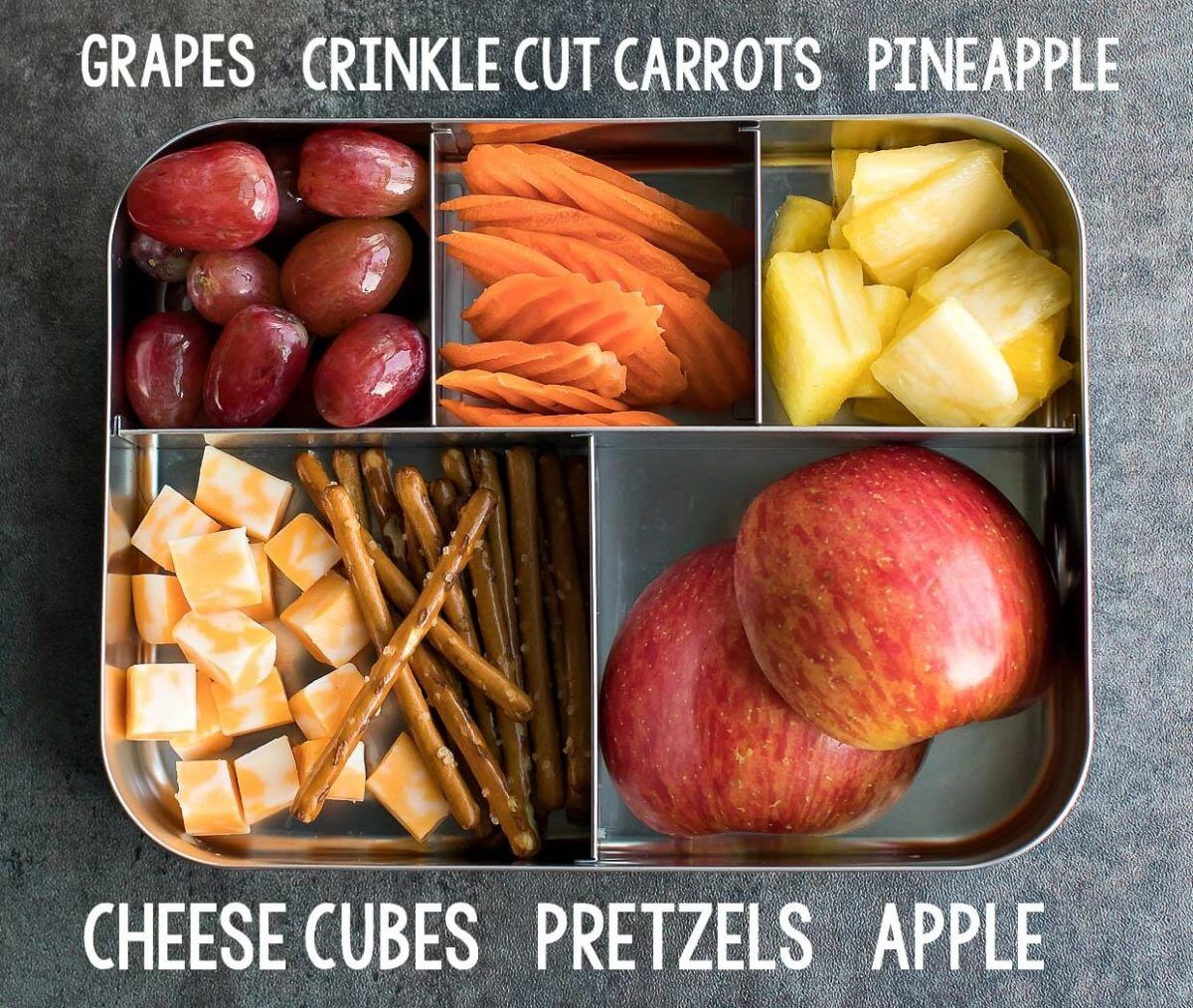 Easy Lunch Ideas for Kindergarten #schoollunchideasforkids