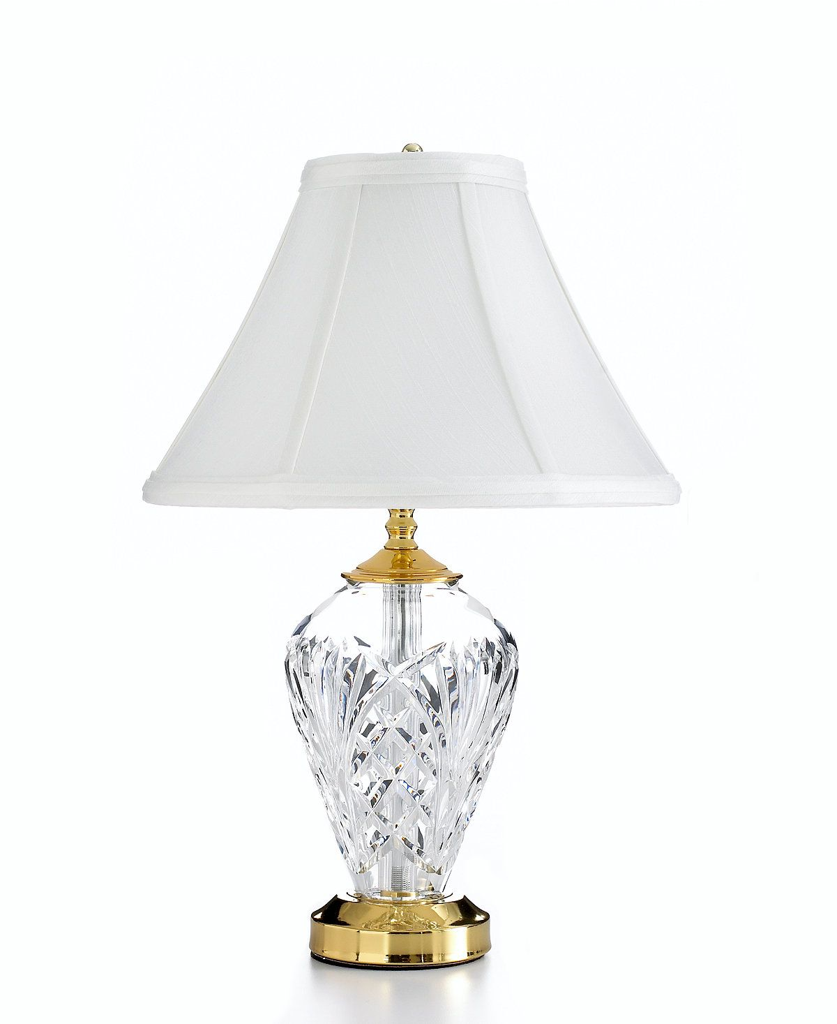 crystal htm lamps waterford finnacce finn lamp