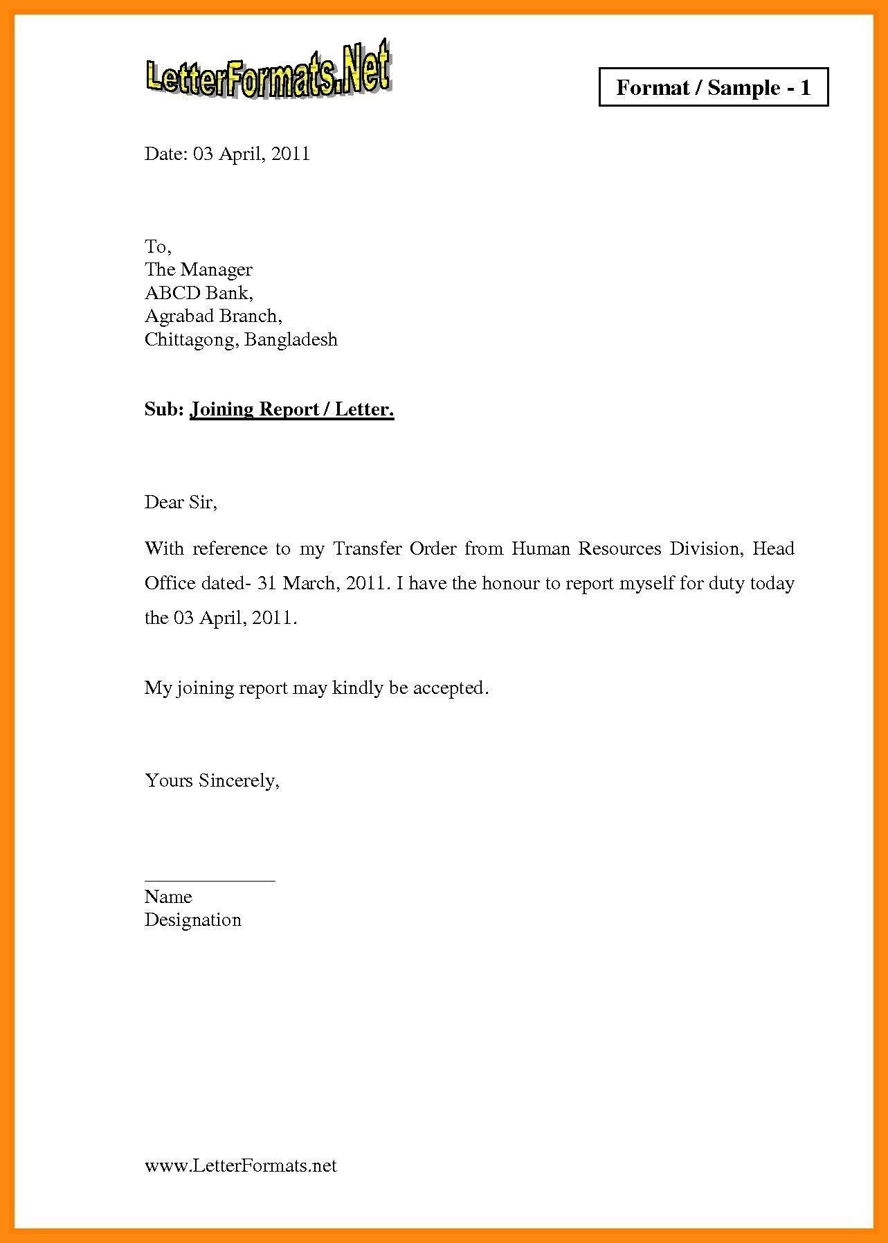 Download Best Of Job Offer Letter Pdf Lettersample Letterformat