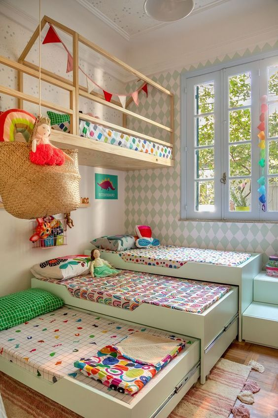 70+ Stylish & Chic Kids Room Design Ideas for Girls & Boys - Page 50 of 72 images