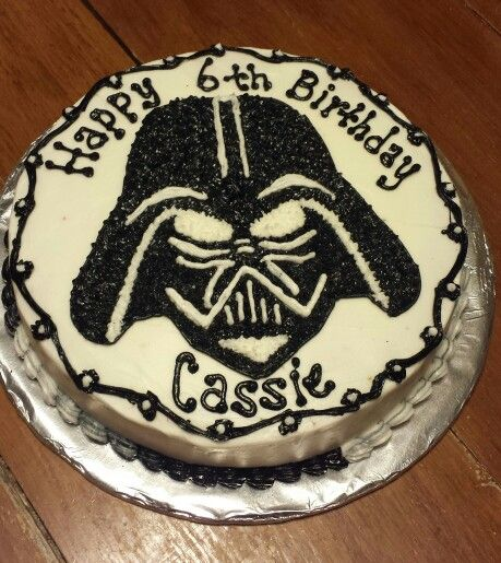 Darth Vader cake Cakes Frostings etc Pinterest Darth vader
