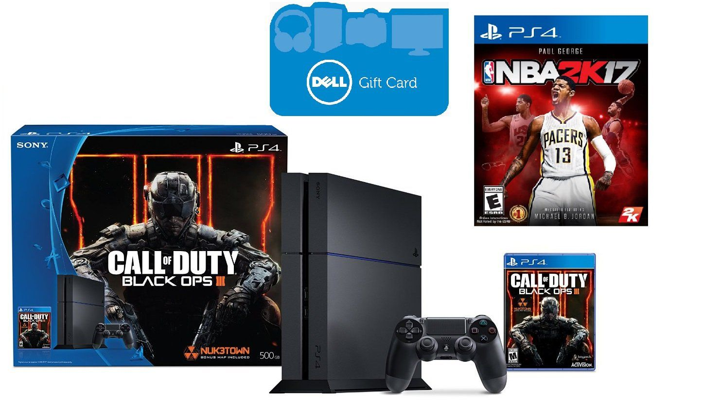 Ps4 Bundle With Free $75 Gift Card And Nba 2k17: The Ps4 Slim And Upcoming