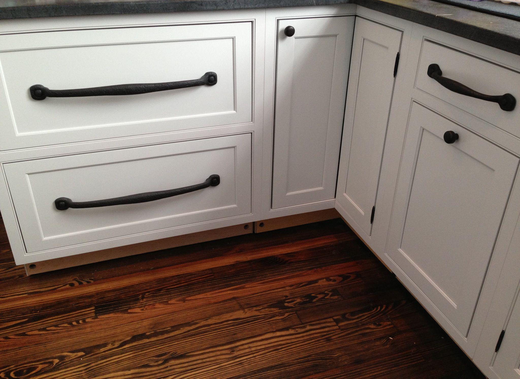 large black iron bar pulls restoration hardware iron cabinet pulls on decora white inset kitchen - Restoration Hardware Kitchen Cabinet Pulls