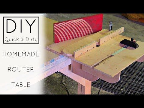 60 diy easy homemade router table izzy swan youtube router 60 diy easy homemade router table izzy swan youtube router pinterest router table woodworking and router jig greentooth Gallery