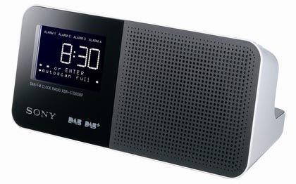 Sony Retro Alarm Clock Dab Clock Radio 4 Alarms Dab Fm Presets