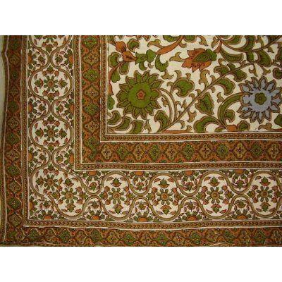 Cotton Sunflower Print Tapestry