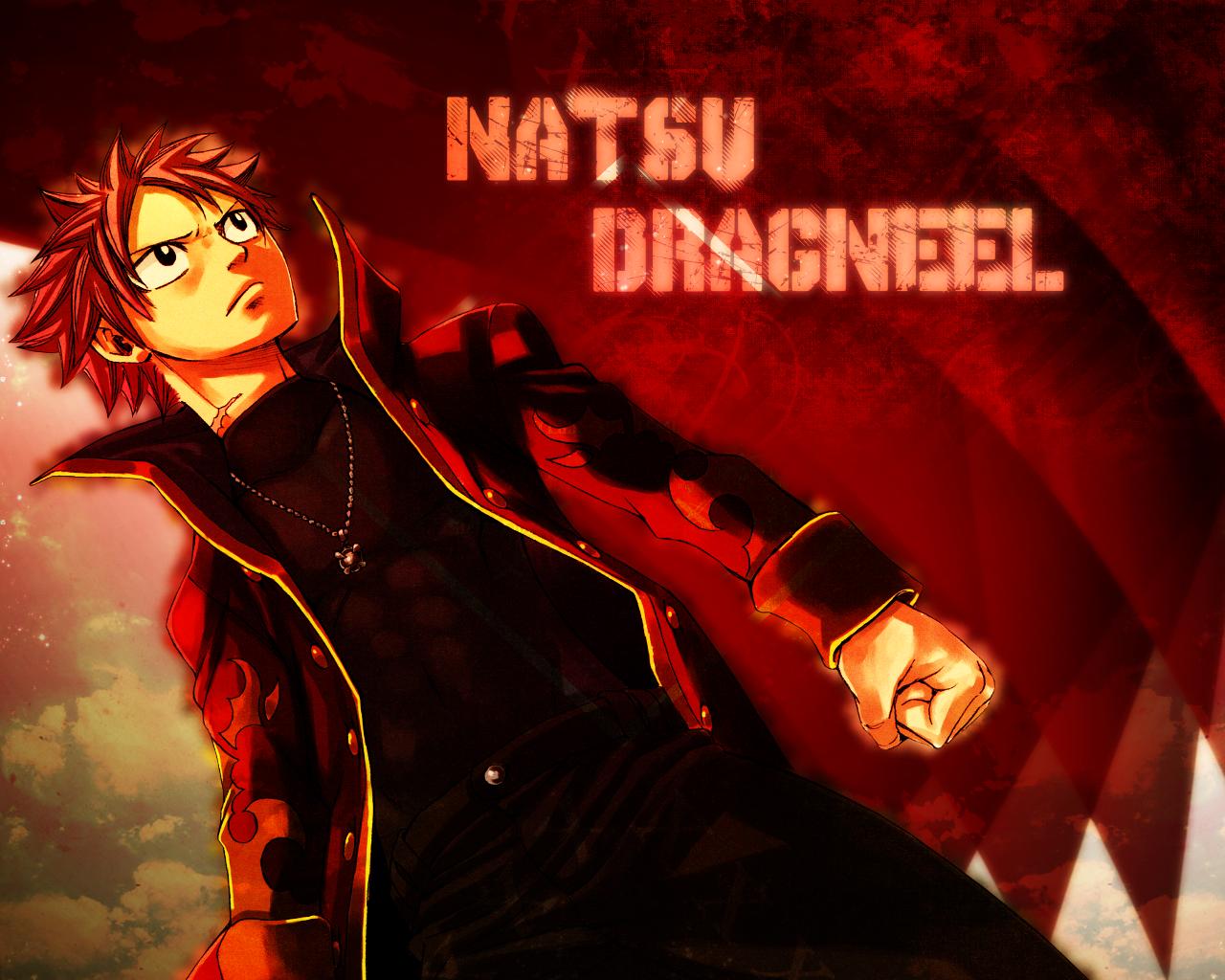 Fairy Tail Natsu Dragneel WALLPAPER by SilasTsunayoshi