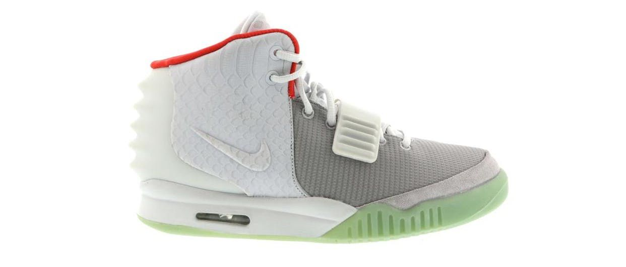 Check out the Nike Air Yeezy 2 Pure