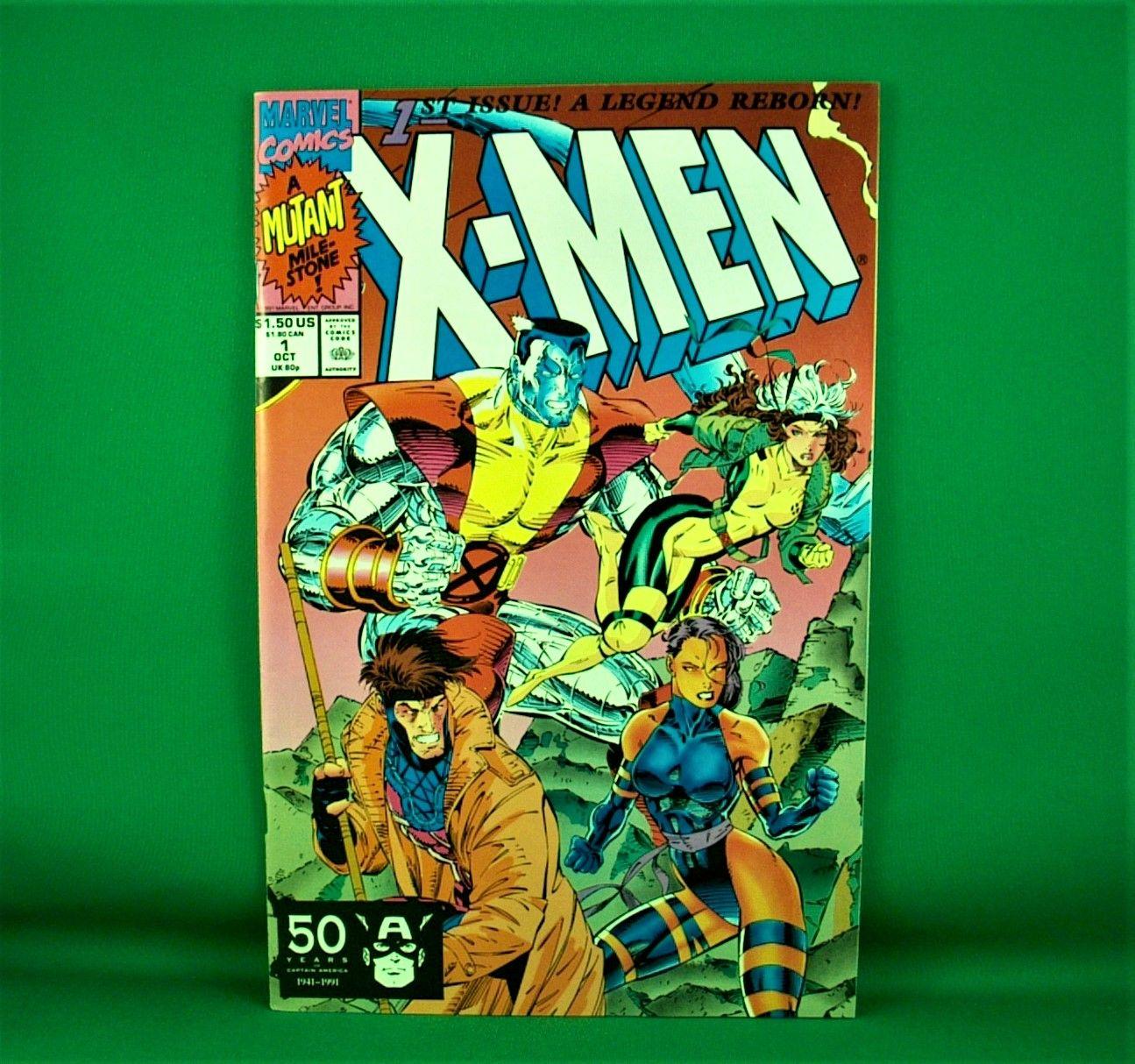 Marvel Comics X Men 1 October 1991 A Legend Reborn A Mutant Mile Stone In 2020 Marvel Comics Comics Marvel