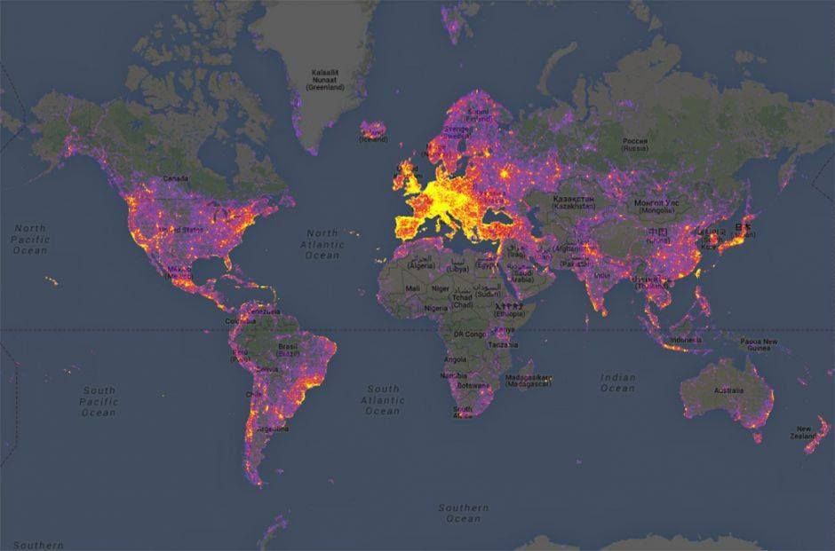 Explore Heat Map Cartography and more MAP
