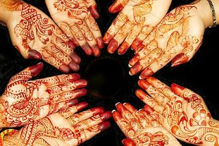 Motif Henna Tangan Sederhana Gambar Henna Tangan Simple Cara Melukis