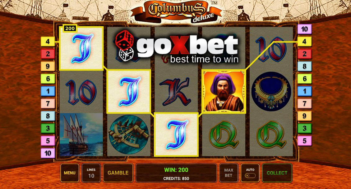 игровые columbus автоматы slots