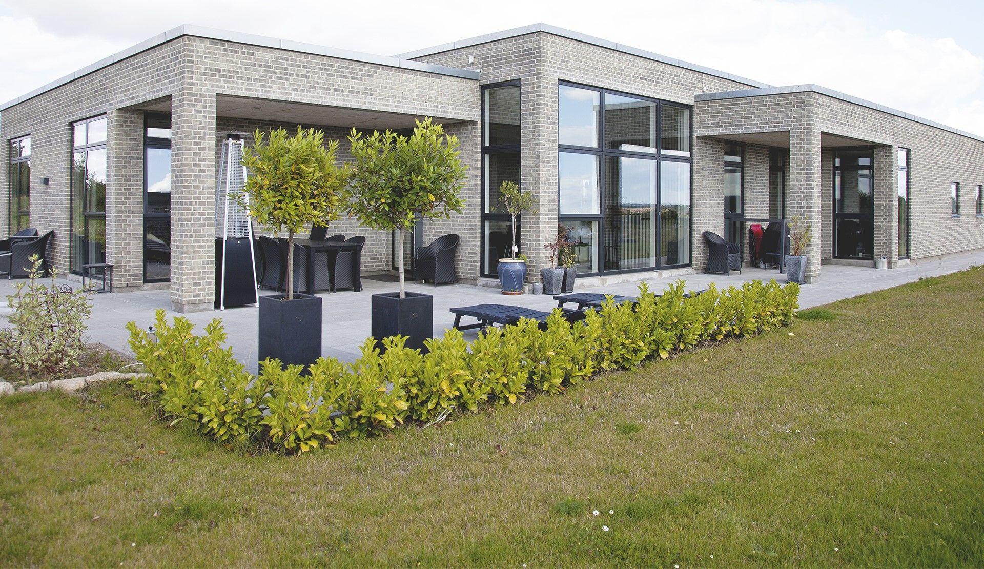 Billedresultat for funkis house 1 plan garden for Funkis house