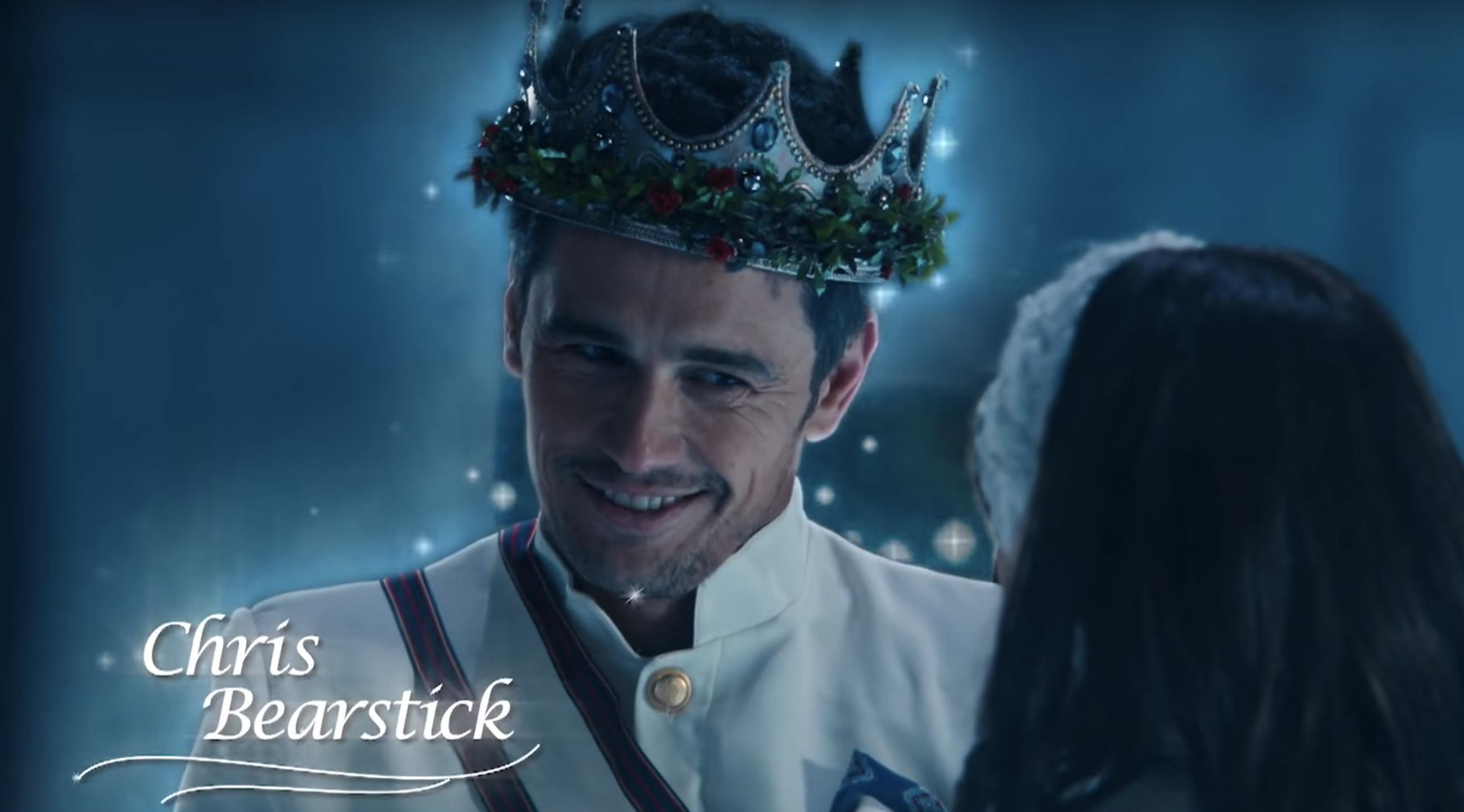 Retro James Franco Spoofing Hallmark Holiday Movies On Snl Hallmark Holiday Movies Holiday Movie James Franco