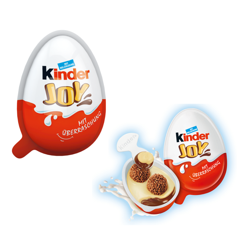 Kinder Joy Surprise Egg - www.chocolateandmoredelights.com ...