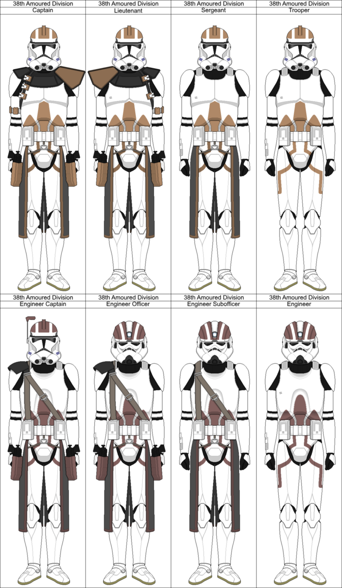 38th Armoured Division Phase 2 by PieJaDak | Clone Trooper