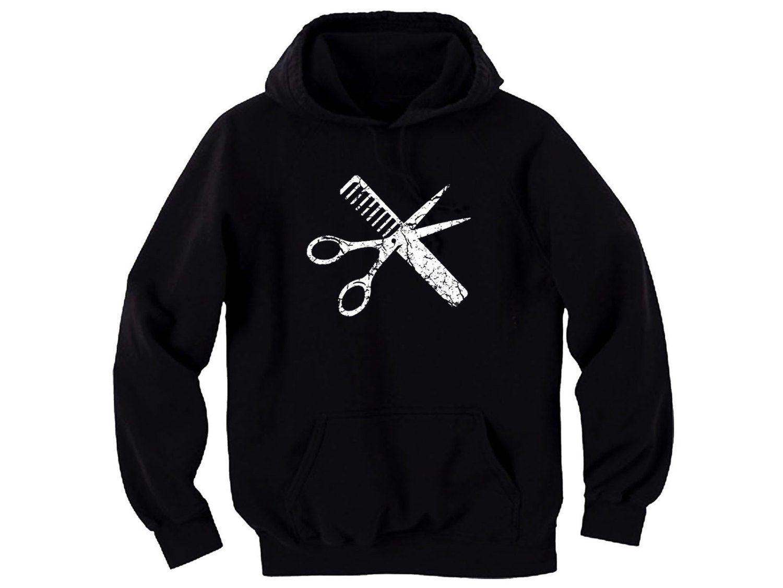 Hoodie Cool Sweatshirt In Prink Barbers Wife Tee Shirt