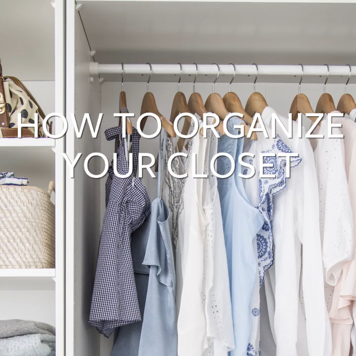 How To Organize Your Closet Simplify Clothes And Shoe Storage By Following These Tips To Create A Tidy And Well Organized In 2020 Kleiderschrank Schrank Organisieren