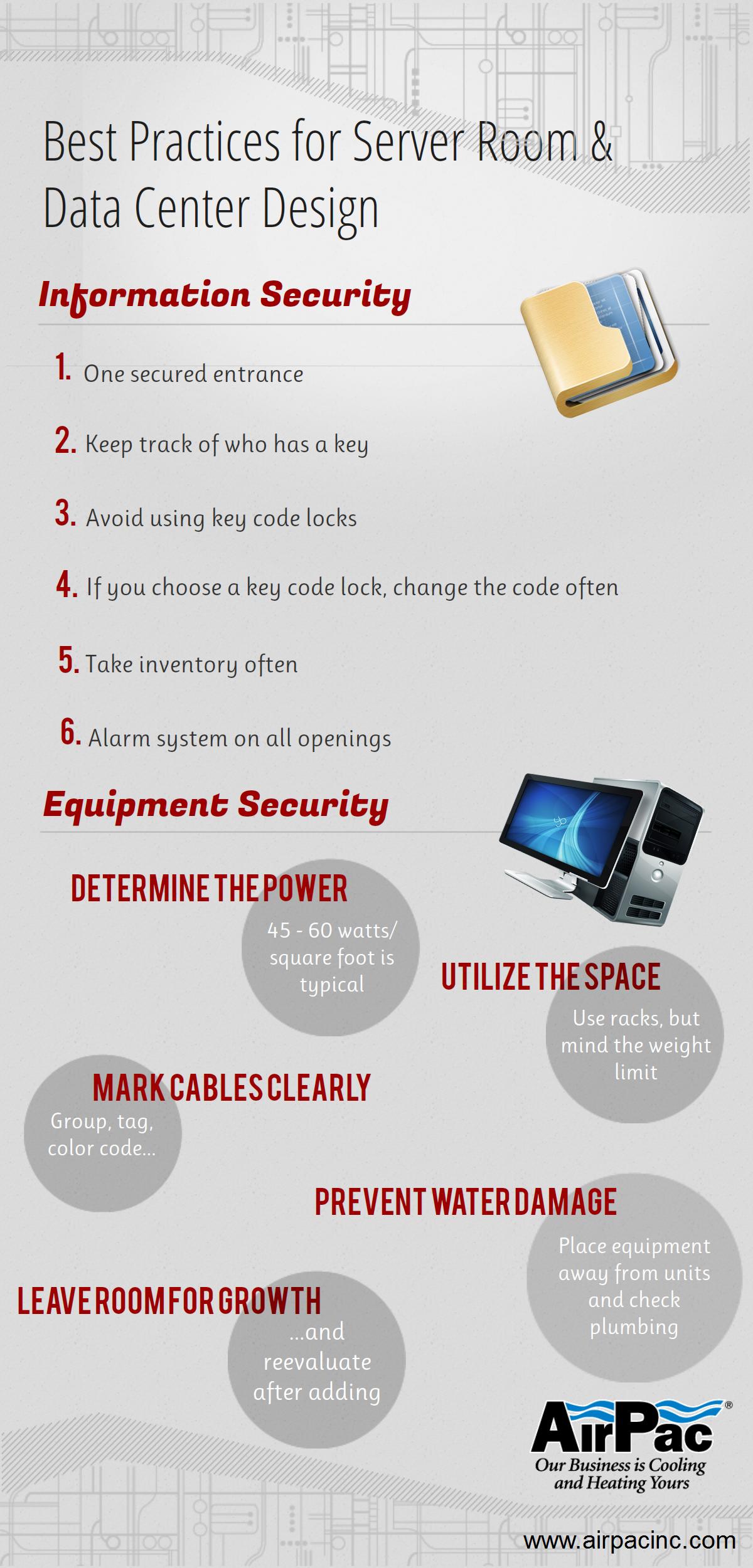 Server Room Data Center Cooling Design Best Practices Server