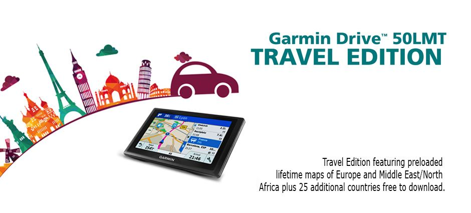 Drive 50 LMT Travel Edition North africa and Middle east