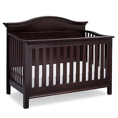 Serta 174 Bethpage 4 In 1 Convertible Crib In Dark Chocolate