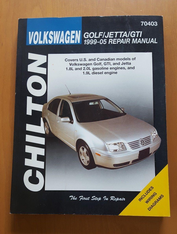 Nice Awesome Chilton Repair Manual Volkswagen Golf & Jetta GTI 1999-05  #70403 2017