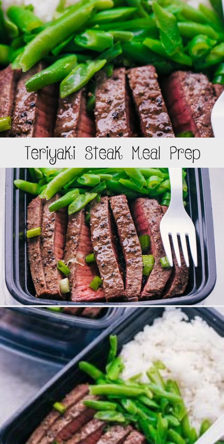 Quick and easy, this Teriyaki Steak Meal Prep will keep you on track all week long.  This is the per...