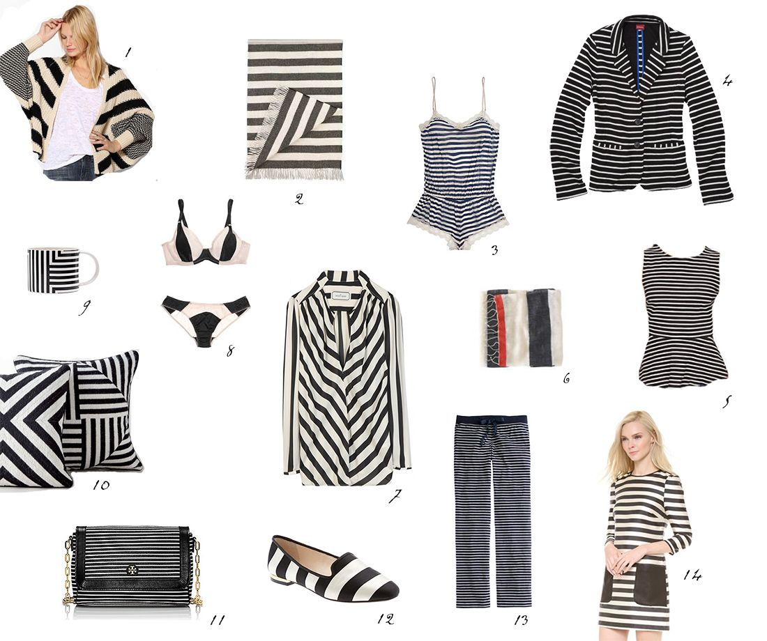 striped gift guide