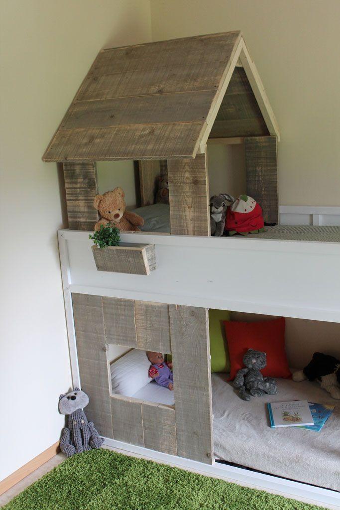 lit cabane kura simple r aliser chambre enfants pinterest. Black Bedroom Furniture Sets. Home Design Ideas