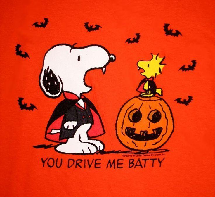 Happy Halloween 3 Snoopy