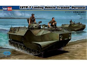 The Hobby Boss 1/35 LVTP-7 Landing Vehicle Tracked Personnel plastic