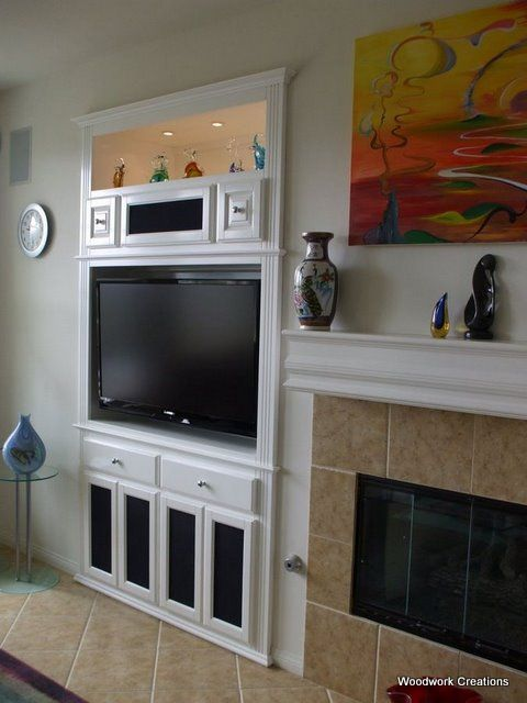 Built In Cabinets For Tv Niche
