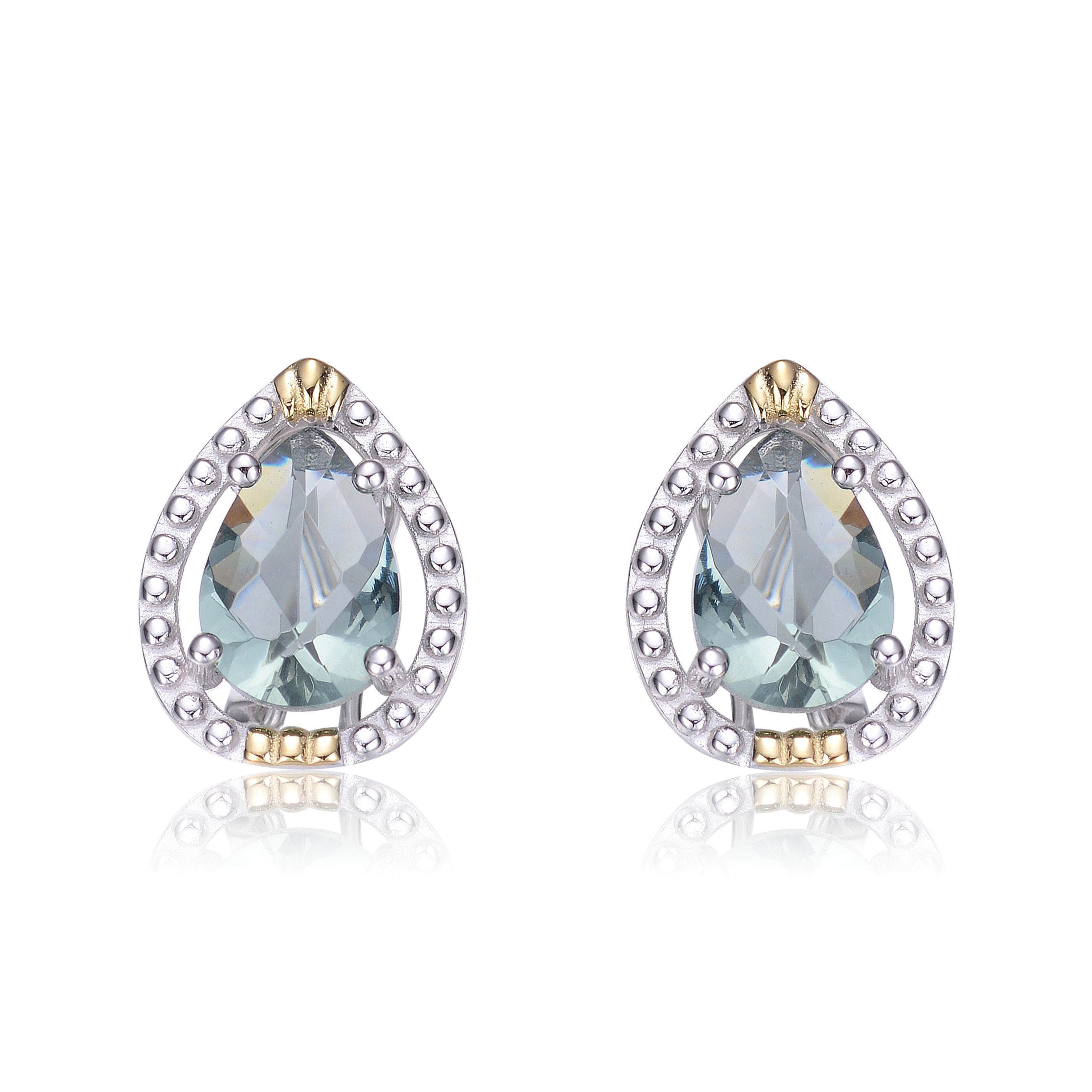 pave rg rose products stud at gold geometric buy shape pear earrings shaped