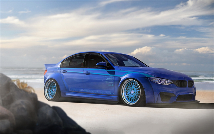 Download wallpapers F80, BMW M3, stance, 2017 cars, tuning ...