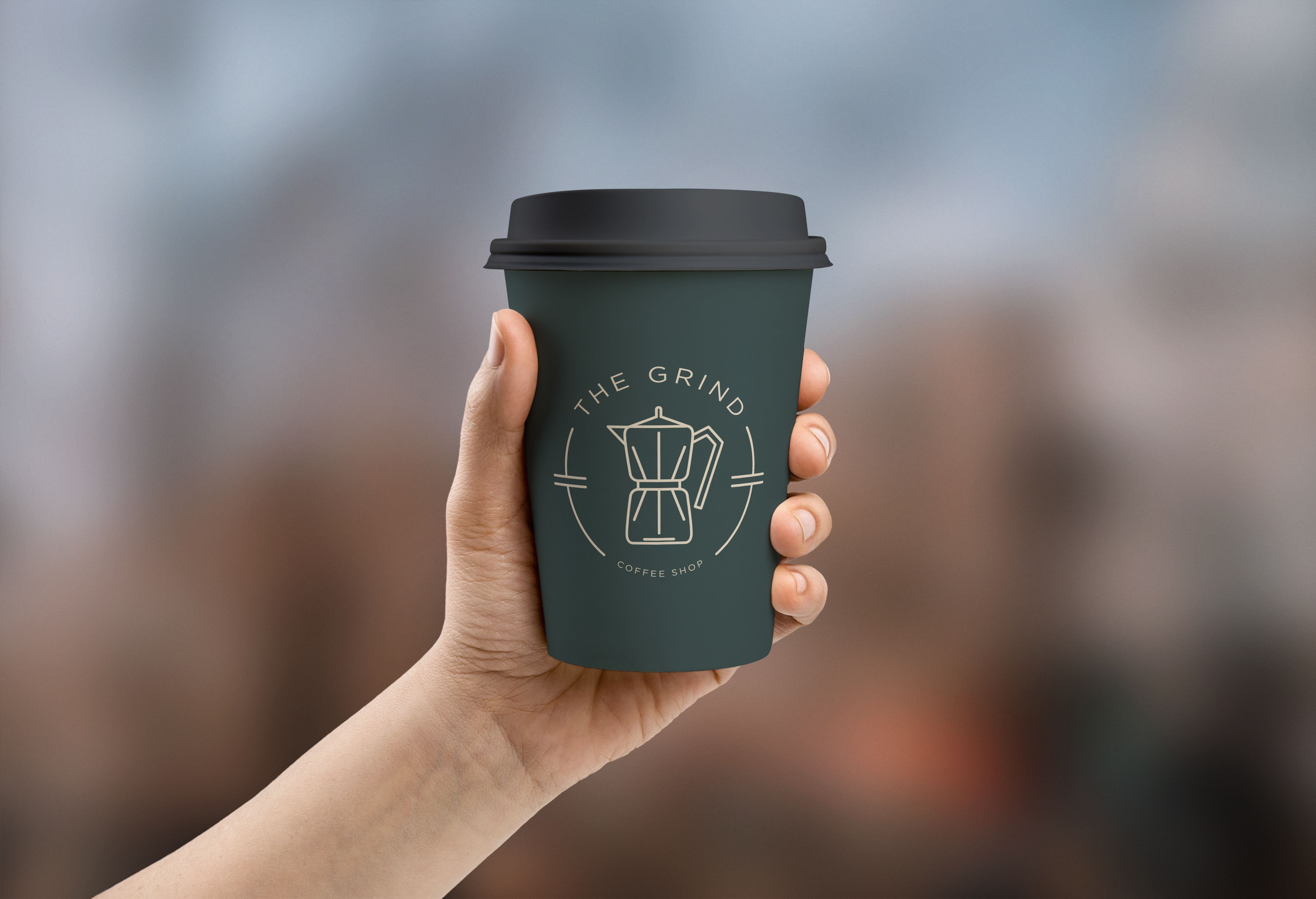 Check out this behance project the grind coffee shop