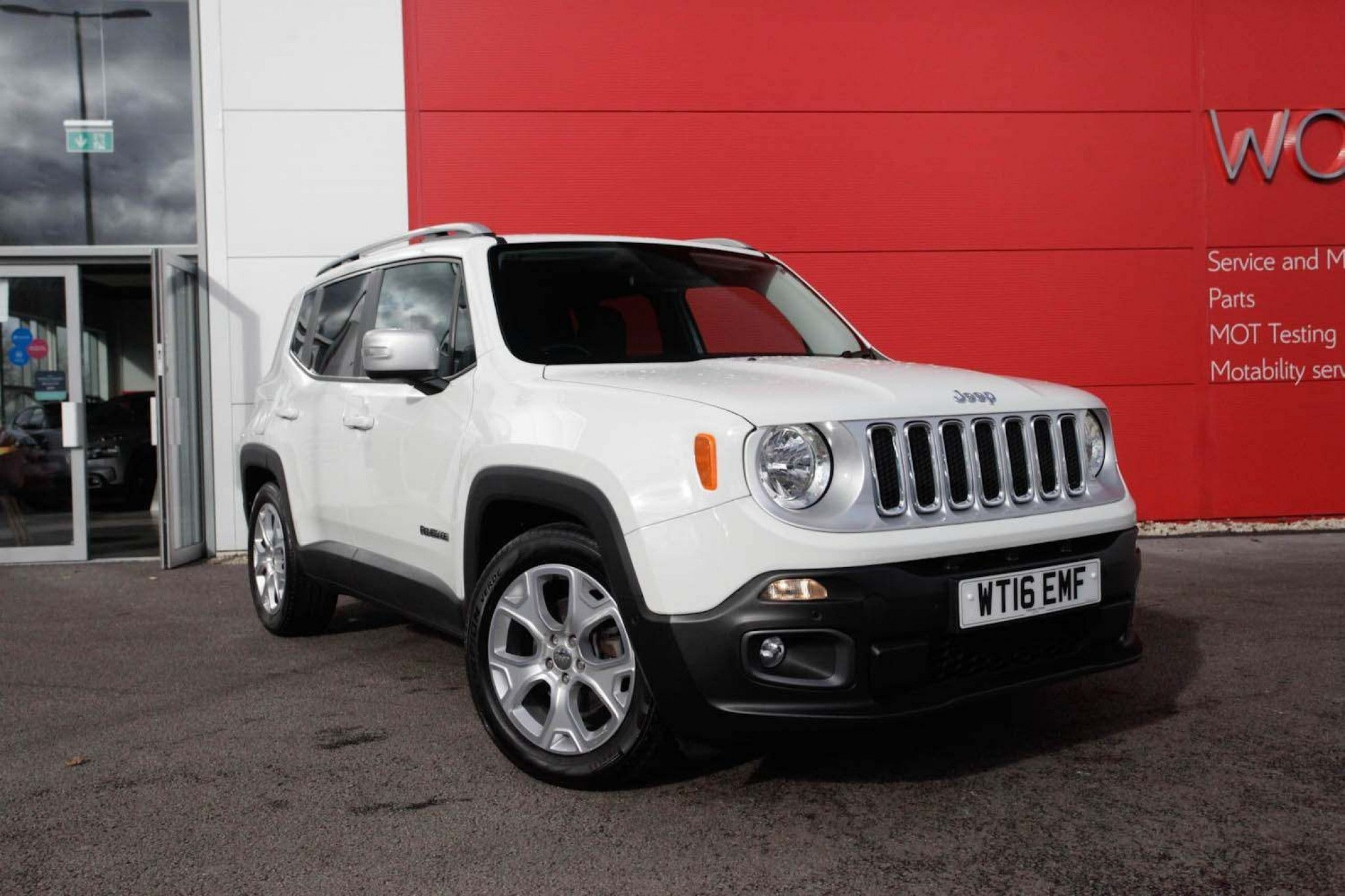 Jeep Renegade 1 6 Multijet Limited 5dr In 2020 Jeep Renegade Used Jeep Jeep