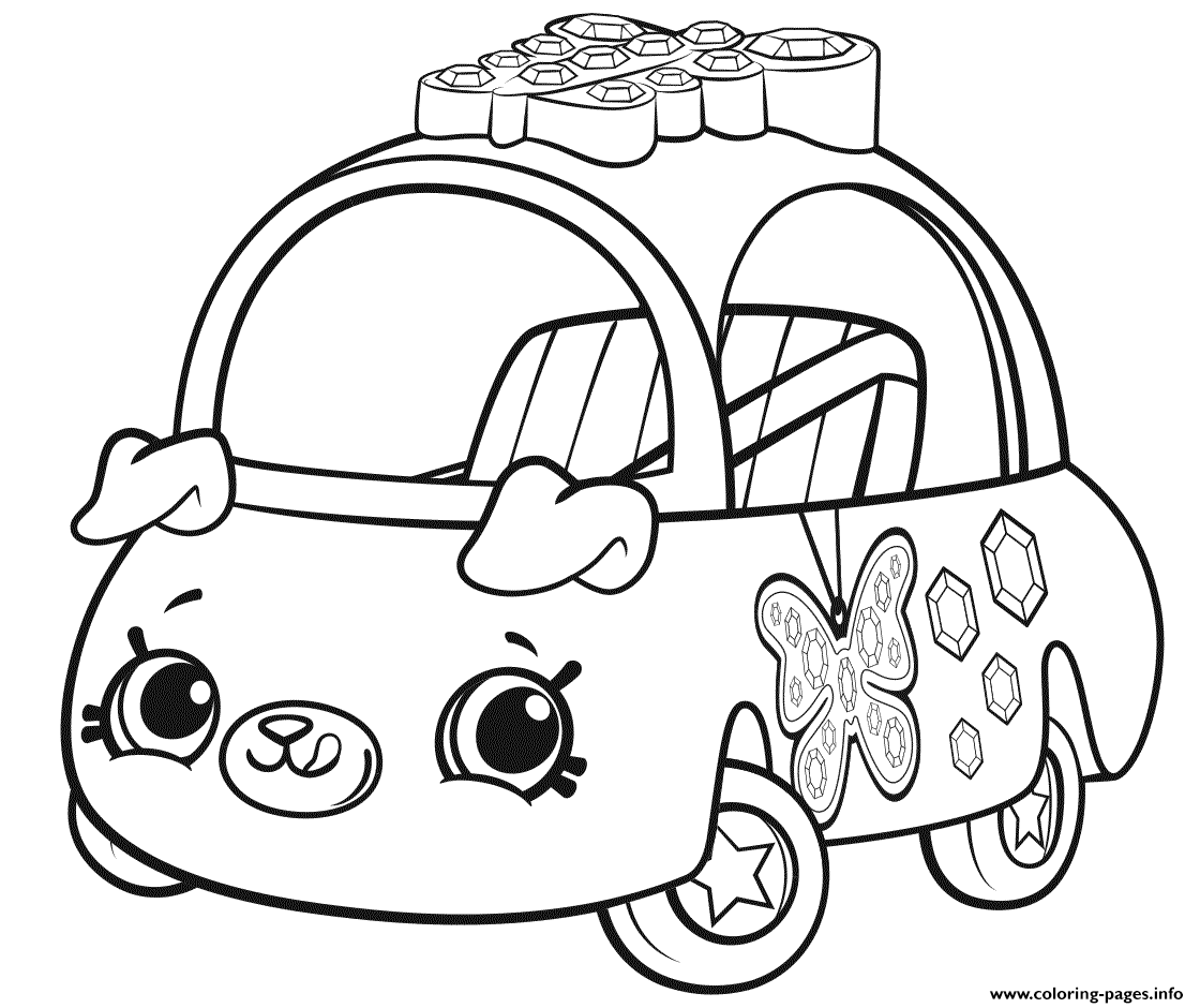 Print Cutie Cars Season 1 Coloring Pages Shopkins Colouring Pages Shopkin Coloring Pages Cars Coloring Pages