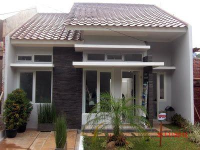 Desain Rumah Minimalis Type 45 Bungalows Simple House House