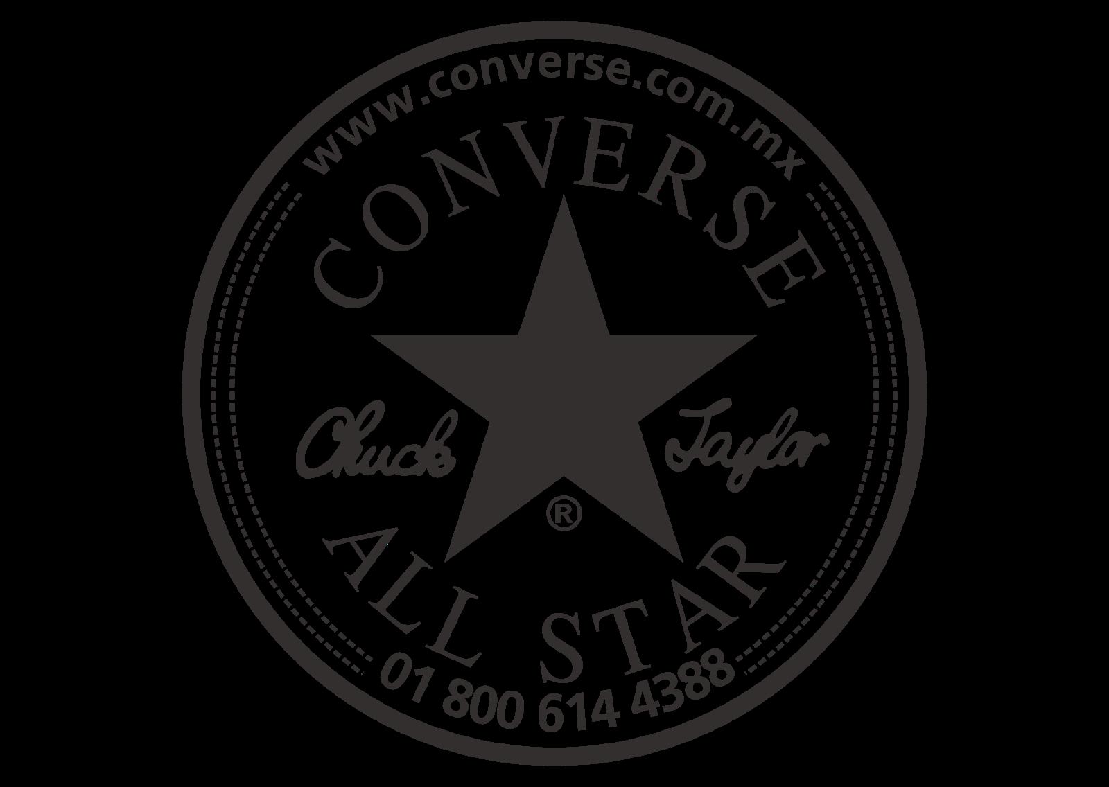 Coverse All Star Logo Vector (Black White) Logo Converse  Converse logo