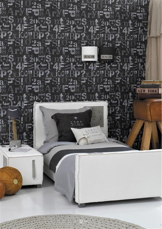 Tienerkamer behang slaapkamer tiener pinterest tienerkamer slaapkamer en jongens - Kleur muur slaapkamer tiener jongen ...