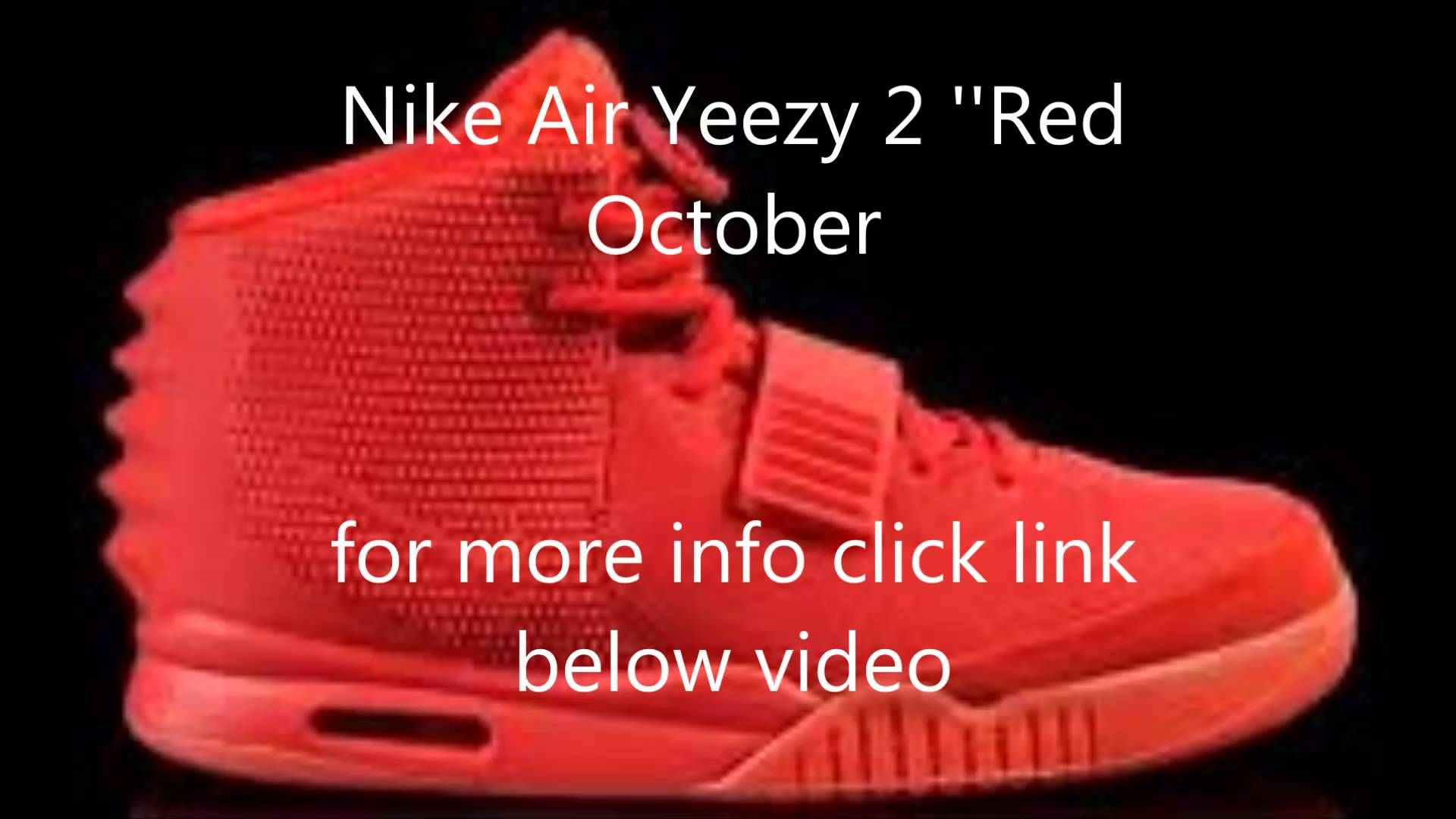f9c26e041 Nike Air Yeezy 2 SP Red Octobers