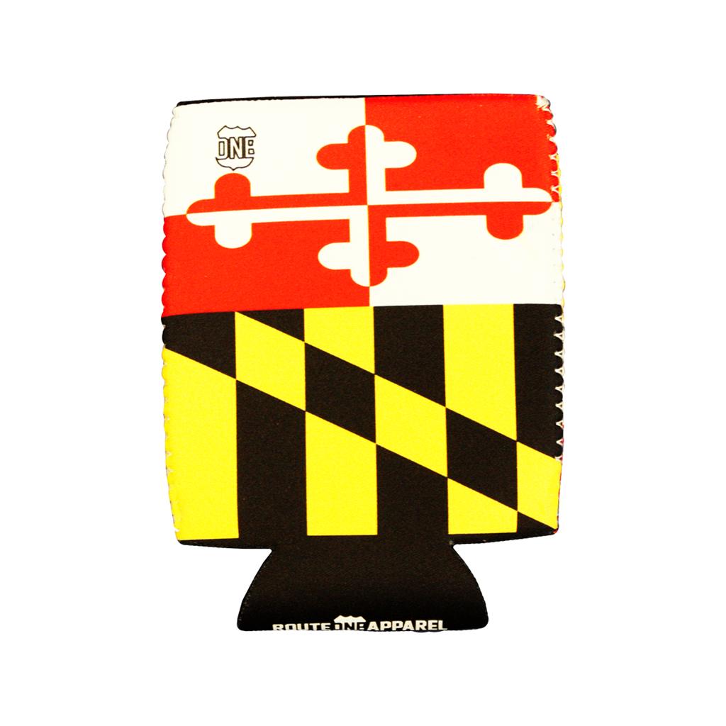 Maryland Flag Can Cooler Maryland Flag Flag Maryland
