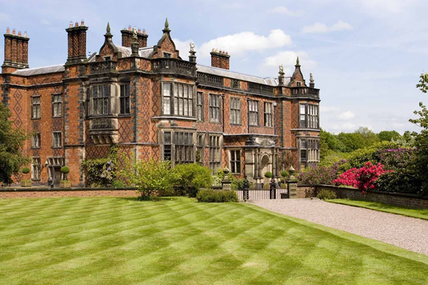 Arley Hall, build during Victorian period, home of England\'s finest ...