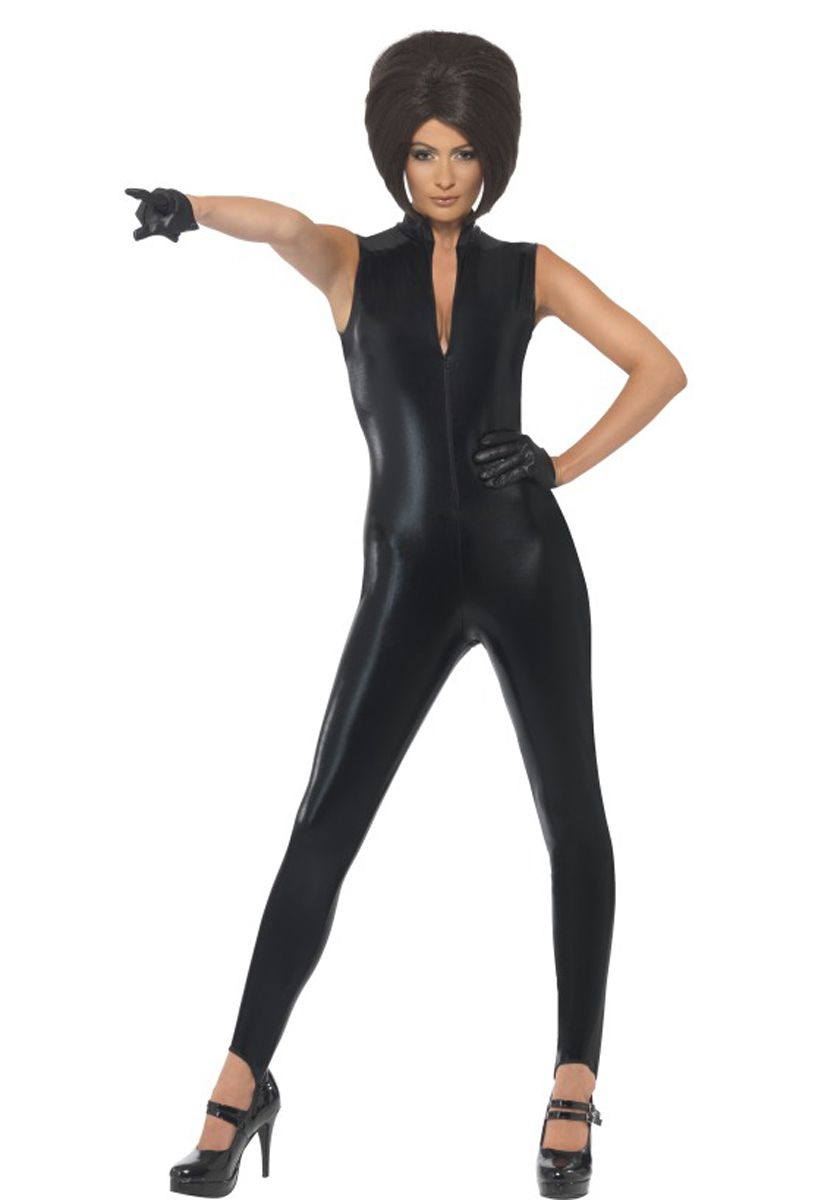 90s posh power costume music legends costumes at escapade uk posh power costume code fcpopo m posh power icon costume black catsuit and gloves posh spice costume ideal for celebrity theme parties or great for sciox Image collections